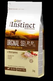 True Instinct Gos Adult Original Pollastre i arròs integral