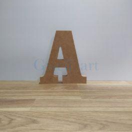 Lletra de fusta A
