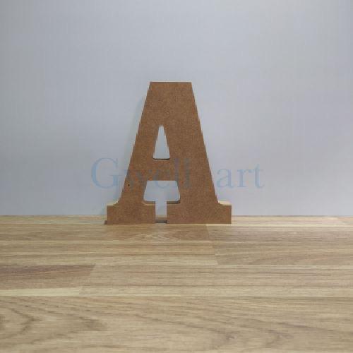 Letra de madera A