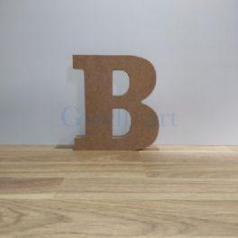 Lletra de fusta B