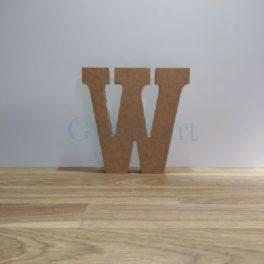 Lletra de fusta W