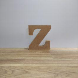 Lletra de fusta Z