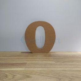 Lletra de fusta O