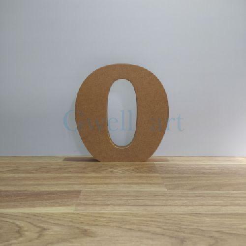 Letra de madera O
