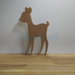 Silueta de fusta bambi