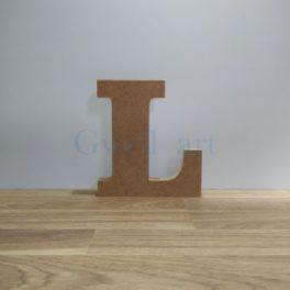 Lletra de fusta L
