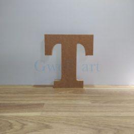 Lletra de fusta T