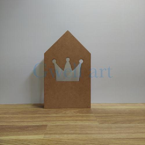 Lámpara casita corona