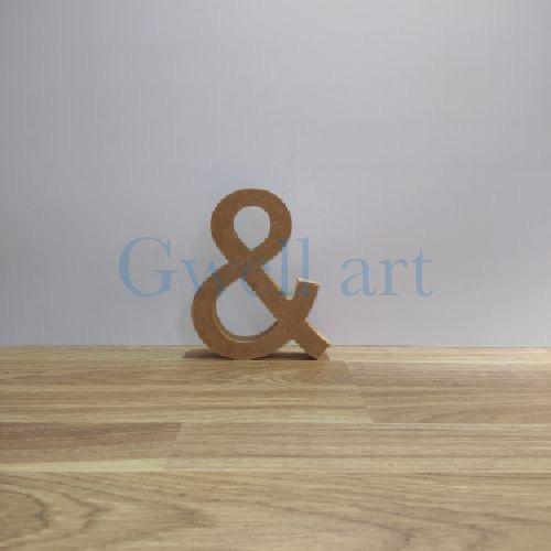 Letra de madera &