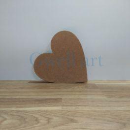 Silueta de fusta cor
