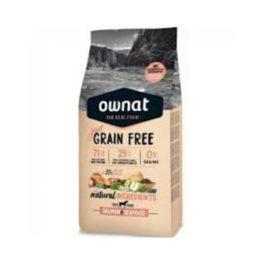 Ownat Hipoalergenic Grain Free Salmón Mascotes Plujà