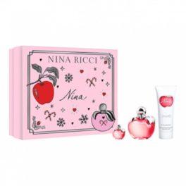 Estoig fragància Nina Ricci de 50 ml i miniatura de 30ml i crema corporal.